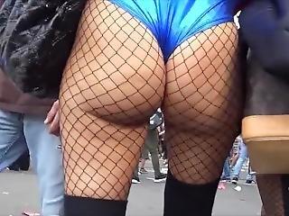 amatør, rompe, stor rompe, stor pupp, bikini, samlefilm, fetish, fiskenett, fest, offentlig, Tenåring
