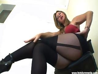 image Femdom facesitting slave worshipping her beautiful pussy