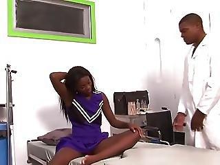 Slim Cheerleader For Her Doctor...f70