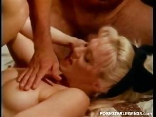 Blonde Teen Double Teamed In Sorority Dorm Room
