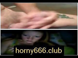 German Girl Shows Tits On Horny666.club