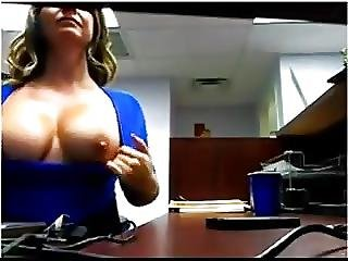 Busty Office Milf 1