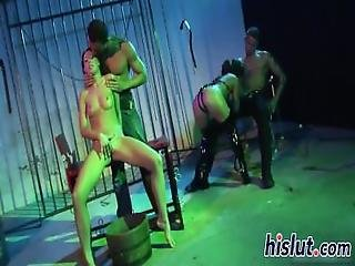 Kinky Dungeon Fun With Two Horny Lassies