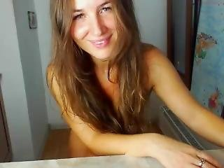 Crazy Ohmibod Shaking Strong Orgasm Ukrainian Beautiful 28 Years Old Girl