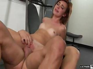 Kaylee Haze Gets A Full Body Workout With Her Trainer