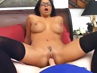 Slick, Clean, Standard Sex With Office-clad Latina