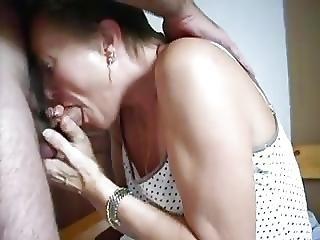 Sperm, Sperm Svelging, Bestemor, Svelge, Kone