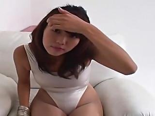 Shame On Shinkosha Shiori ! Voyeur Enjoys Her Satin Panties: Upskirt View 1