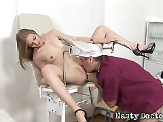 Russian Blonde Gets A Hardcore Fuck