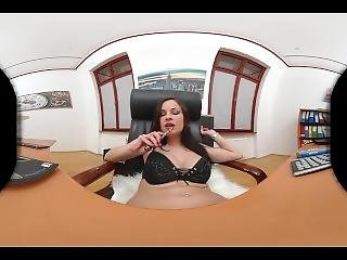 Abbie Cat #01� Vr (vitrual Reality) Smoke Fetish Promo � 180 Degree.mp4