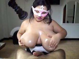 Incredible Hot Titty Fuck - Brazilian Style!