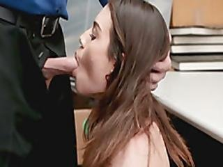Awesome Babe Playing With Big Cock