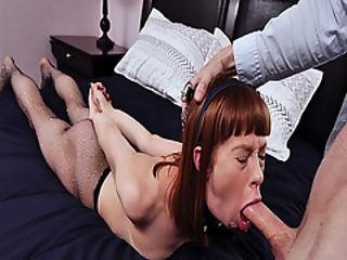 Horny Mature Dad Fucks Alexas Warm Mouth As She Lay Down On Her Stomach