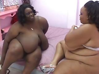 2 Huge Tit Large Ass Bbw Sluts