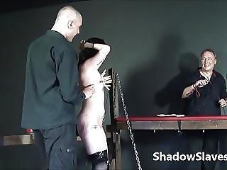 Faes Breast Whipping Punishment And Rough Tit Torture