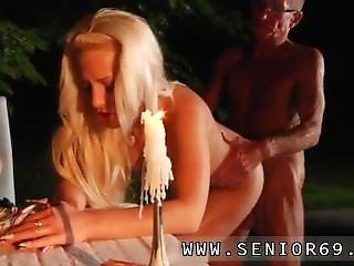 Russian Teen Threesome Forest Old John Hard Pulverize Youthful Anastaisa