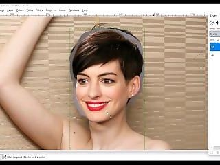 Faking Anne Hathaway