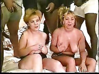 2 Slutwives Gangbanged By Bbc S