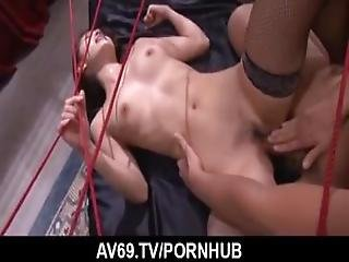 Rough Bondage Pleasures For Insolent Mei Haruka