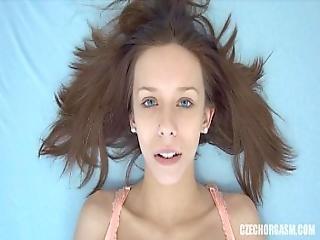 Young Redhead Girl Real Masturbation