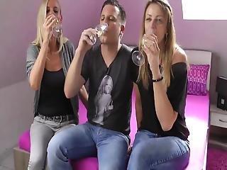 Boyfriend Fucks Horny Mature Milf In Front Of His Girlfriend