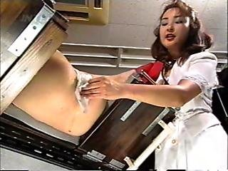 Pooping Girl --- Yoko Kosaka Takes Enema And Excretes On The Delivery Chair