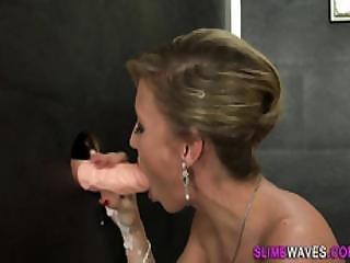 Bukkake Whore Rides Cock