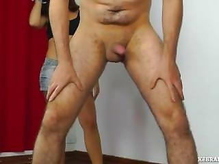 Hard Ballbusting Tight Ass Short Skirt