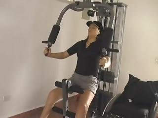 Paraplegic In The Gym