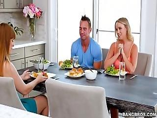 Bangbros - Alexis Adams Fucks Her Boyfriend Raw Bbc16074