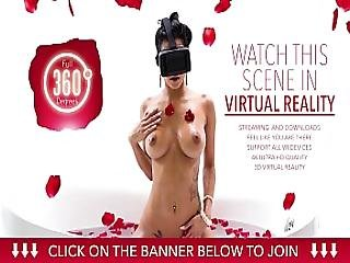 Vr Bangers - Sexy Readhed Marie Mccray Puts Vibrator On Her Wet Pussy