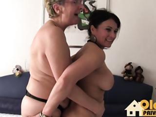 Lesbo Granny Action