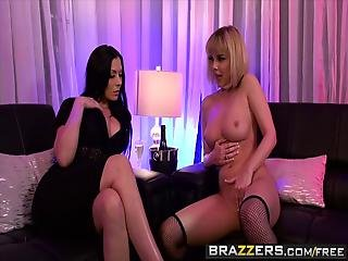 Brazzers - Hot And Mean - Dillion Harper Rachel Starr - The Submissive Stripper - Trailer Preview