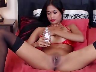 asiático, fetiche, cursi, masturbación, oriental, solo, camara del internet