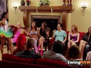 Obciąganie, Para, Milf, Orgia, Impreza, Rzeczywistość, Prysznic, Swingerzy, Trójkąt