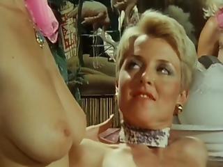 Vintage Fetysz pornolesbijskie seks-joga spodnie