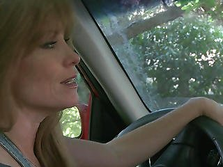 Hitchhiking Lesbians:crazy Young Blonde Needs A Mommy