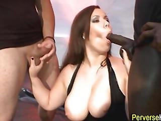 Fetish Babe Swallows Cum