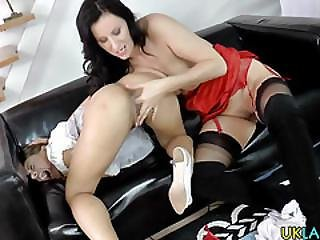Lesbian Heels Gets Rimmed