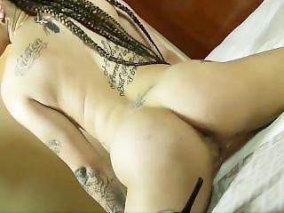Redbone Stripper Vs Thick Porn Star (shaking Ass