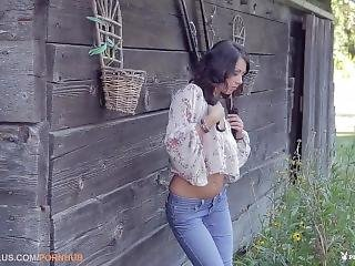 Sara Kristina In Cabin In The Woods
