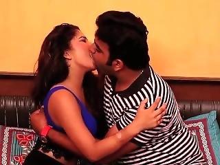 Hot Desi Shortfilm 15 - Big Boobs Squeezed, Hot Smooches & Cleavage Show