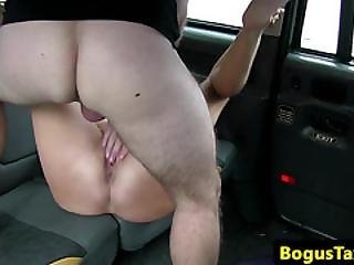 Busty Taxi Amateur Facialized After Sucking