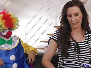 Saucy Mature British Tart Fucked By A Clown