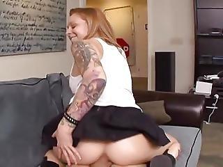 Goth, σκληρό, πορνοστάρ, Pov, τατουάζ