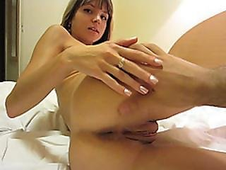 Gina Asshole Stretched With Huge Cock In Doggy