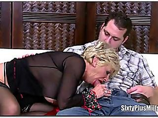 Blonde Sixty Plus Bombshell