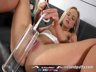 Sex Toys   Vinna Reed Gives Her Pussy A Workout With Various Toys