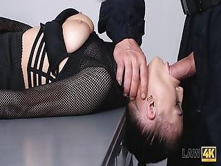 Law4k Patrol Arrests A Gorgeous Prostitute Nicole Love