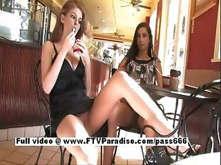 lesbian larissa tubes and Faye
